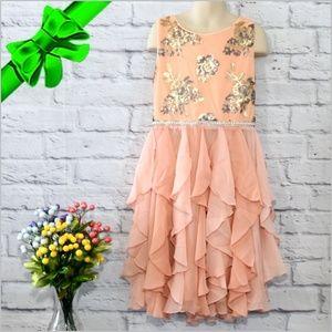 Sequin Bodice Corkscrew Dress #f8o77k05a20b2o3
